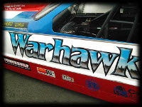 Warhawk Drag Racing Car Custom Paint