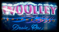 Woolley Equipment Blue Tribal Drain Oregon