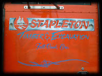 Orange Stapleton Fallcreek Oregon Chrome lettering