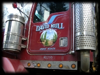 David Hull Big Truck Custom Lettering