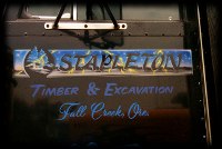 Stapleton Custom Lettering Fall Creek Oregon